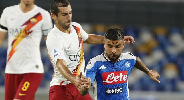 Roma, Mkhitaryan: Non meritavamo la sconfitta. Sull'1 a 1 potevamo segnare di nuovo, ma...