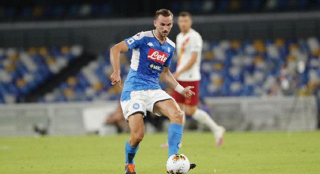 Ultime cambio per il Napoli: dentro Elmas per Fabian