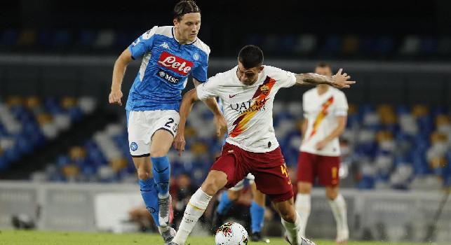 Roma, oggi esami per Ibanez e Mancini. CorrSera: saranno a disposizione per il Napoli