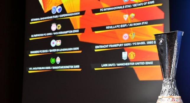 Europa League, alle 13 il sorteggio di quarti e semifinali: la guida completa