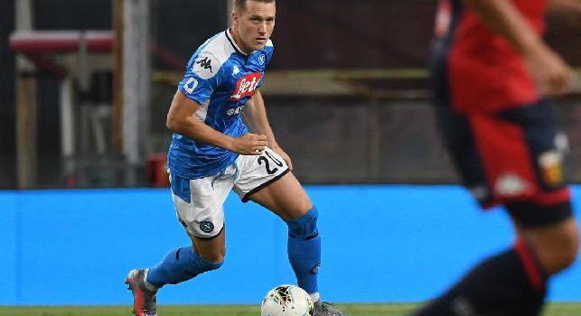 Rinnovo Zielinski, l'annuncio dallo stesso calciatore: Nei prossimi giorni la firma