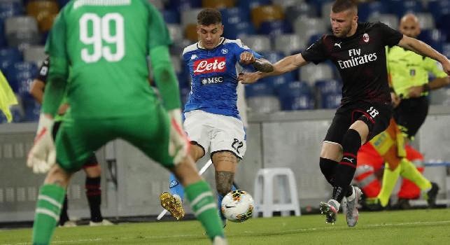 Rebic punta il Napoli: è l'unica big di Serie A a cui non ha ancora segnato