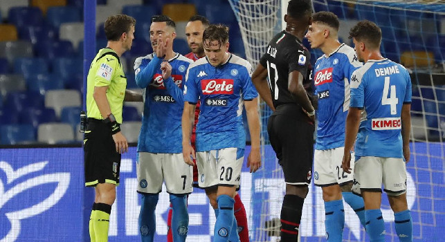 Milan in dieci uomini negli ultimi minuti: espulso Saelemaekers
