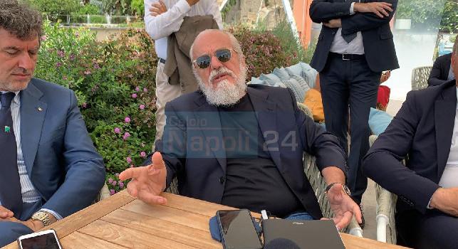 Ritiro Napoli, Gattuso soddisfatto della struttura: ci sarà Gravina a far visita agli azzurri