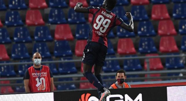 UFFICIALE - Bologna, brutte notizie per Mihajlovic: Barrow positivo al Covid-19!