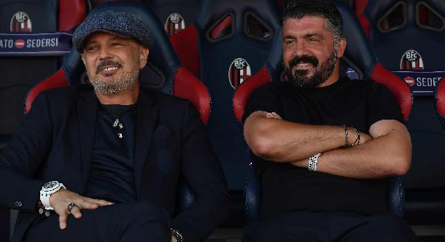 Gazzetta - La foga intraprendente del Bologna ha risucchiato il Napoli: due gesti di Gattuso e Mihajlovic in panchina la dicono lunga