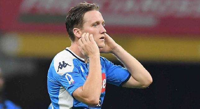 Piotr Zielinski, centrocampista del Napoli