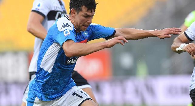 Parma-Napoli, ammonizione per Bruno Alves: brutto fallo su Lozano