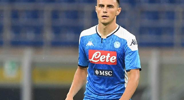 Elif Elmas, centrocampista del Napoli e della nazionale macedone