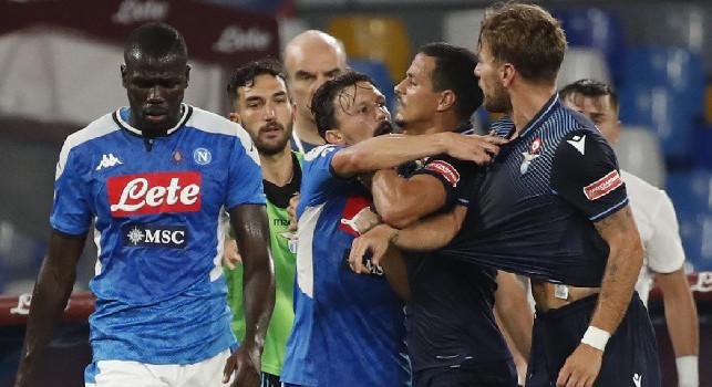 Rissa sfiorata al San Paolo: Gattuso e Inzaghi non si scambiano complimenti, giallo per entrambi