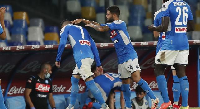 Sintesi Napoli-Lazio 3-1: highlights e gol [VIDEO]