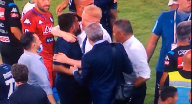 Terrone di m***a a Gattuso, il fisioterapista della Lazio chiede scusa: Sono stato inopportuno...