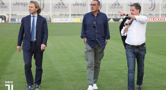 Dagospia, Tarallo: la Juve ha vinto uno scudetto di cartone! Il futuro di Sarri non è chiaro, come quello di Paratici e Nedved