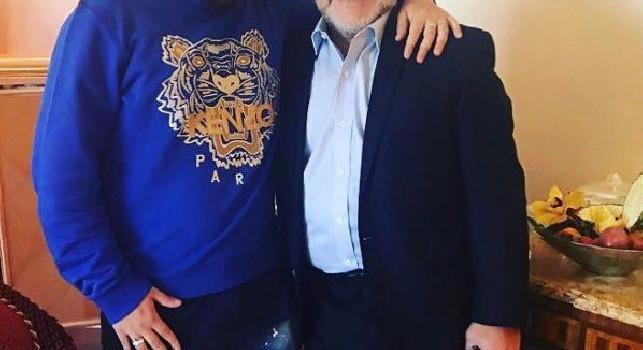 Maradona jr: L'ombra è diventata presenza, che bello aver ritrovato mio padre! Si è sempre dimostrato pensito e su quel palco del San Carlo...