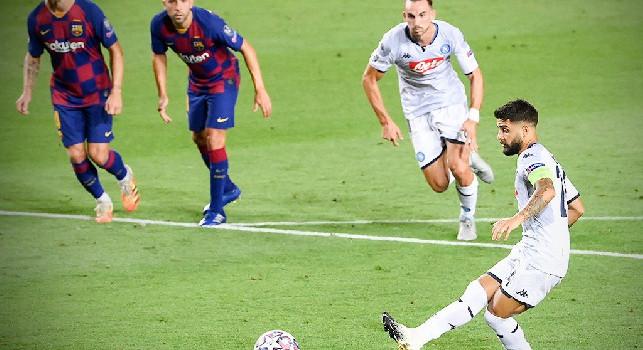 Barcellona-Napoli, CdM: In queste sfide conta il killer instinct, agli azzurri manca l'acuto