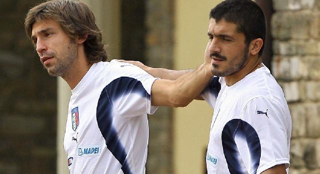 Pirlo nuovo allenatore Juve, Gattuso scherza: Ora sono c***i suoi! E' un lavoro stressante