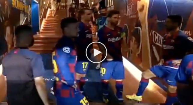 Barcellona-Napoli, il discorso di Messi all'intervallo: Non facciamo gli idioti, abbiamo due gol di vantaggio! [VIDEO]