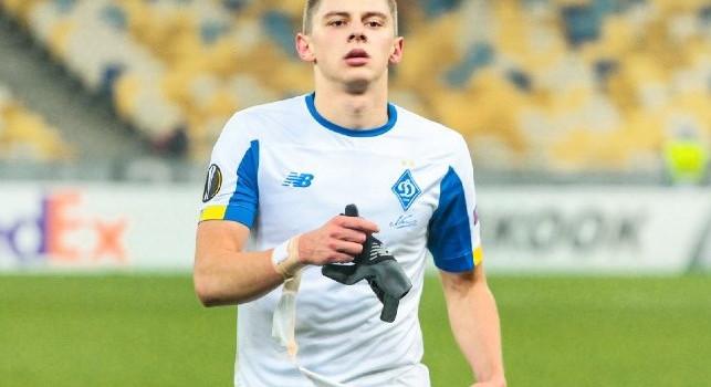 CorSport - Mykolenko outsider per la corsia mancina del Napoli: la Dinamo Kiev ha fissato il prezzo, tutti i segreti dell'affare