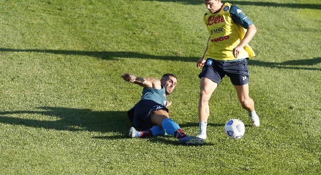 Tutino e Palmiero, entrambi in campo tutta la partita all'esordio in serie B