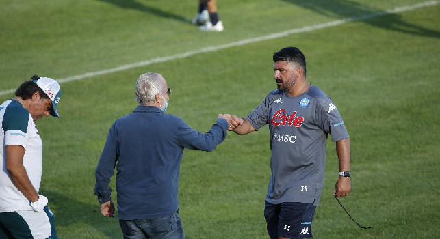 Cdm rivela - Il gesto di De Laurentiis, un segnale di stima a Gattuso davanti alla squadra
