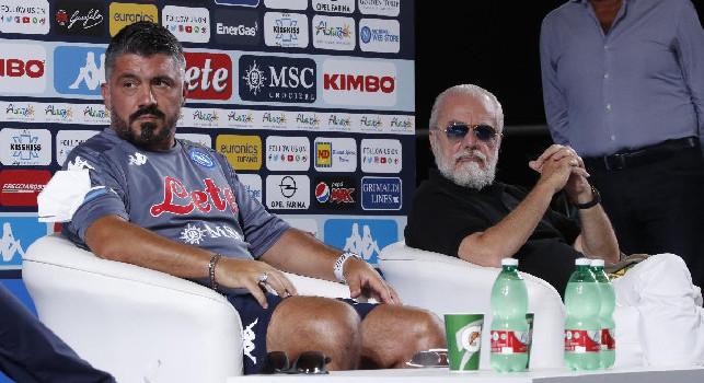 Gazzetta - Gattuso sa che la posizione di De Laurentiis nei suoi confronti non è cambiata: nemmeno Rino vorrebbe il rinnovo