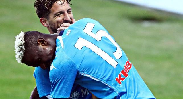 Sky - Napoli, la probabile formazione per il Parma: staffetta Mertens-Osimhen