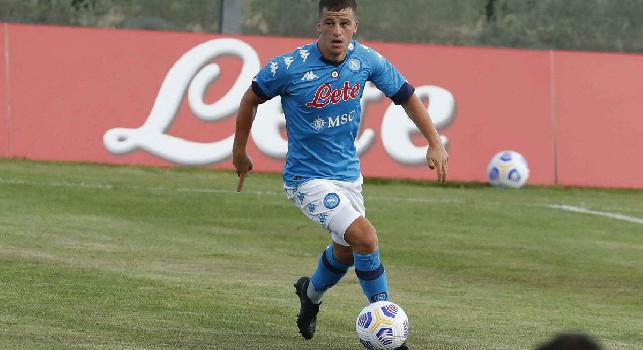 Parma-Napoli, Kucka scappa a Demme: c'è fallo e ammonizione per l'azzurro