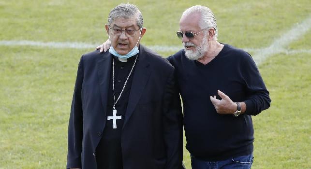 Il Cardinale Sepe sul caso De Laurentiis: E' un amico e lo abbraccio, ma non aveva la mascherina al nostro incontro