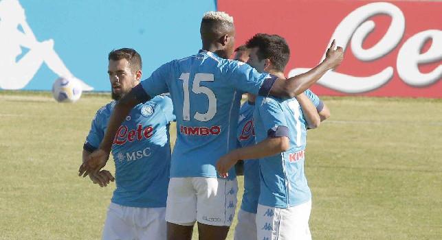 Tuttosport - Osimhen e Lozano verso la panchina, ma sarebbe un errore escluderne a priori l'utilizzo