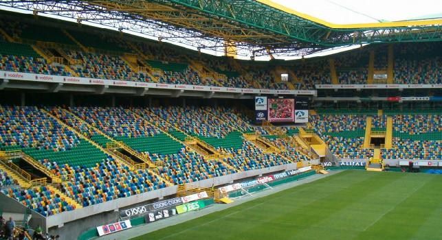 Sky - Annullata Sporting Lisbona-Napoli, gli azzurri puntano ad una seduta d'allenamento allo stadio Alvalade