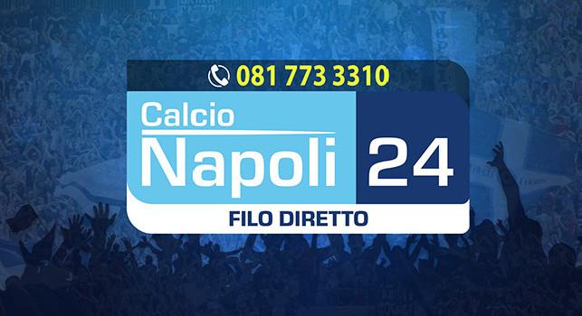 <i>Filo Diretto</i> su CalcioNapoli24 Tv oggi dalle 16: Parma-Napoli, chi fareste giocare in attacco?. Chiamateci allo 0817733310
