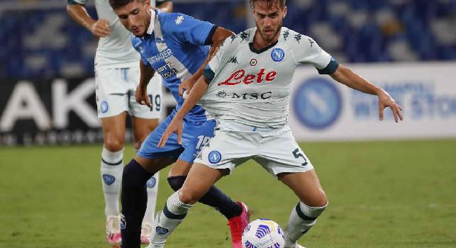 Tuttosport - A centrocampo arrivi soltanto in prestito, a sorpresa può restare Palmiero: arriva la comunicazione del Napoli al suo agente