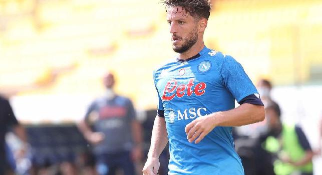 Parma-Napoli, Mertens la sblocca: 0-1!