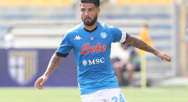 Parma-Napoli, Insigne fa 0-2!