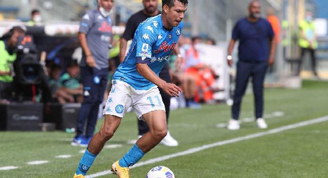 Parma-Napoli, Lozano convincente nelle pagelle dei quotidiani: Gattuso gli ha dato fiducia e lui ha ricambiato con una gara di grande intensità
