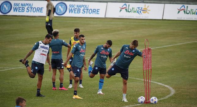 Giornata di riposo per il Napoli, la squadra tornerà ad allenarsi domani in vista del Genoa