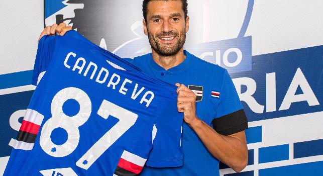 UFFICIALE - Candreva è un nuovo calciatore della Sampdoria