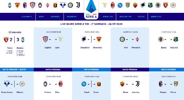 UFFICIALE - Napoli-Genoa cambia orario: si disputerà alle 18 [FOTO]