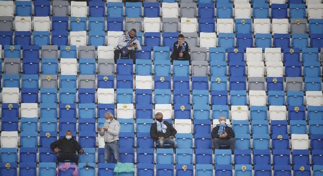 Tornano i tifosi al San Paolo, Il Mattino: erano 600 ma sarà una gara da ricordare per il ritorno sugli spalti