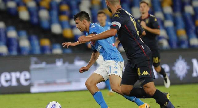 IL GIORNO DOPO...Napoli-Genoa: Lozano, è partita l'operazione recupero. Posizione inedita per Ghoulam. Nessuno vuole gli esuberi azzurri