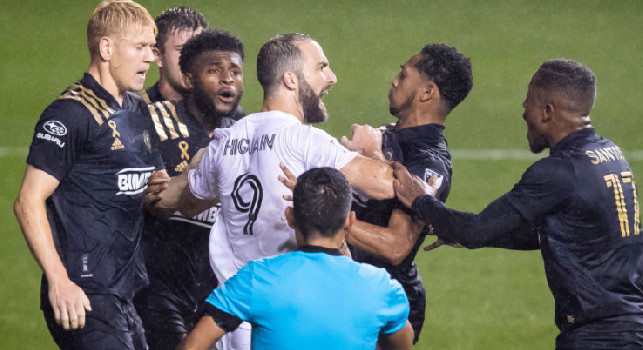 Higuain flop con l'Inter Miami: sconfitti 0-5 in casa e ultimo posto in MLS