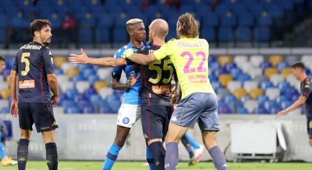 Ziliani: E' il caso di rinviare Juve-Napoli! Azzurri a rischio per gli ultimi minuti di litigi, capannelli e mischie