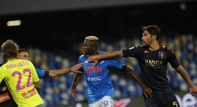 Sky - Contatto tra Napoli e Genoa, chiesta una lista dei calciatori positivi. Domani i tamponi