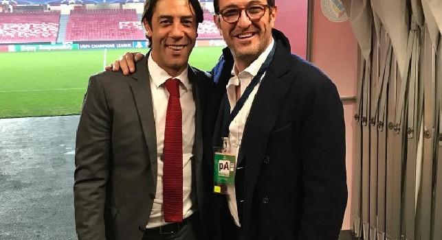 Rui Costa: Pirlo e Gattuso stanno rispecchiando quello che erano da giocatori. Rino è stato un eroe, con il Napoli giusto mix tra qualità e quantità