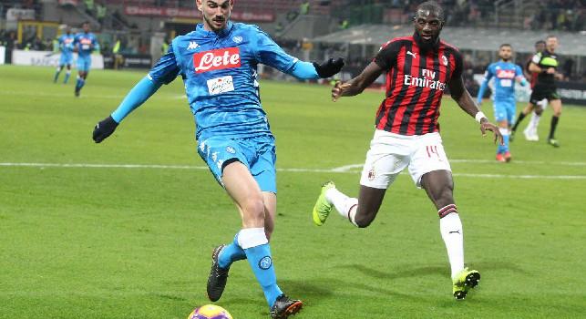 Schira: Bakayoko aspetta il Milan, ma intanto è arrivato il sondaggio del Napoli con gli agenti!