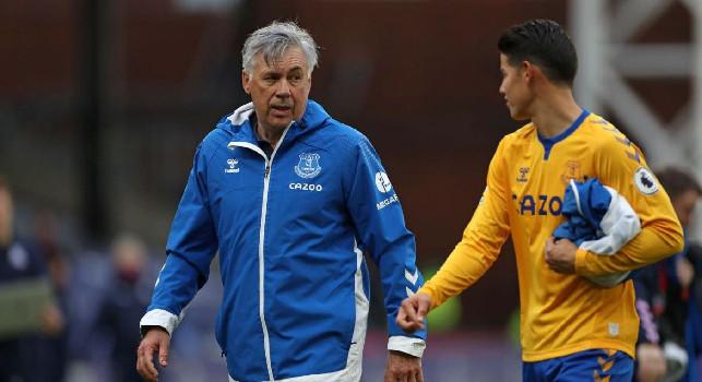Everton, Ancelotti: Da piccolo ero interista, ora sono legato a Roma e Milan