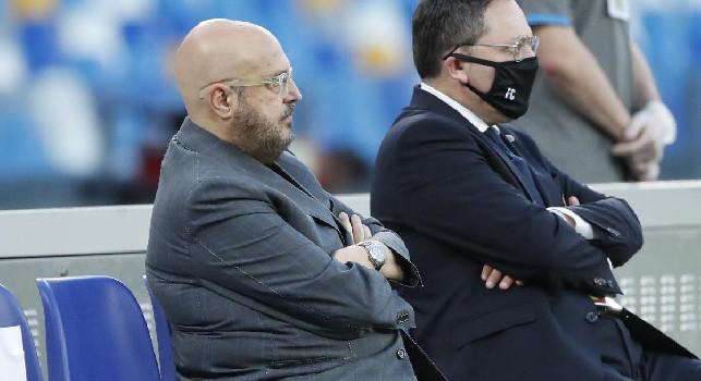 Udinese, Marino: Atalanta seconda, Milan, Juve e Napoli si giocano gli altri due posti per la Champions