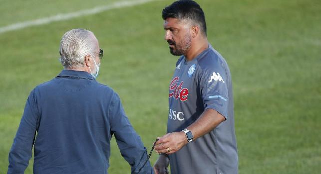 Il Mattino - Contatto De Laurentiis-Gattuso ieri, lungo faccia a faccia del mister con la squadra. E sul futuro...