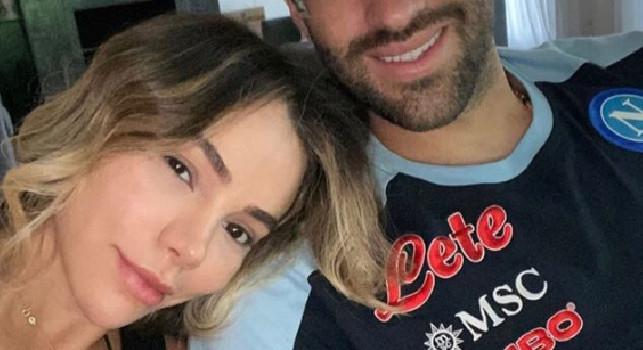 Lady Ospina rivede il marito dopo il lungo isolamento del Napoli: Averti qui al mio fianco... [FOTO]