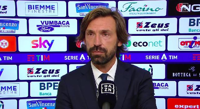 Juve, Pirlo a DAZN: Napoli e Milan attrezzate per lo scudetto, sarà una battaglia. Juve giovane e in costruzione, ci serve tempo